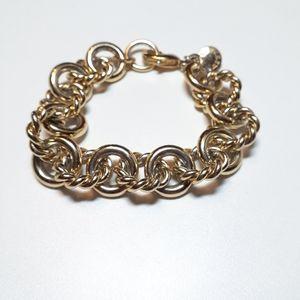 J. Crew gold tone bracelet